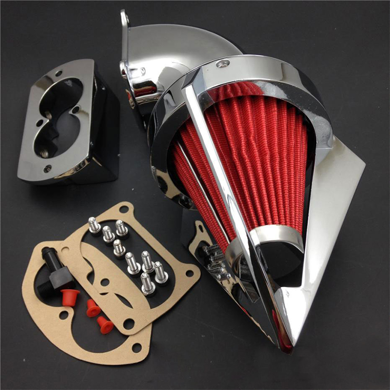 Us 13558 9 Offfreeshipping 2002 2009 For Kawasaki Vulcan 1500 1600 Mean Streak Chrome Cone Spike Air Cleaner In Air Filters Systems From
