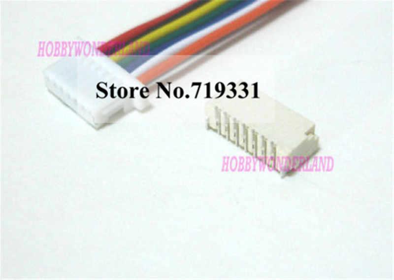 10 sets sh الجزئي 1.0 دبوس موصل jst الإناث و الذكور موصل بأسلاك الكابلات