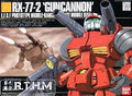 HGUC 01 1/144 RX-77-2  Guncannon Gundam Model Kit Assembled model Scale Model