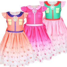 2019 New Summer Girls LO Dress Birthday Christmas Costumes Baby Girl Cosplay Childrens Day Halloween Lo Party Princess