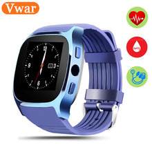 T8M Smart Watch Men Bluetooth MP3 Music Watch Heart Rate Monitor Wearable Devices reloj inteligente Smartwatch For Android Phone