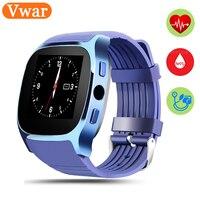 T8m inteligente reloj Bluetooth MP3 música ritmo cardíaco Monitores Dispositivos de vestir reloj inteligente smartwatch para teléfono Android