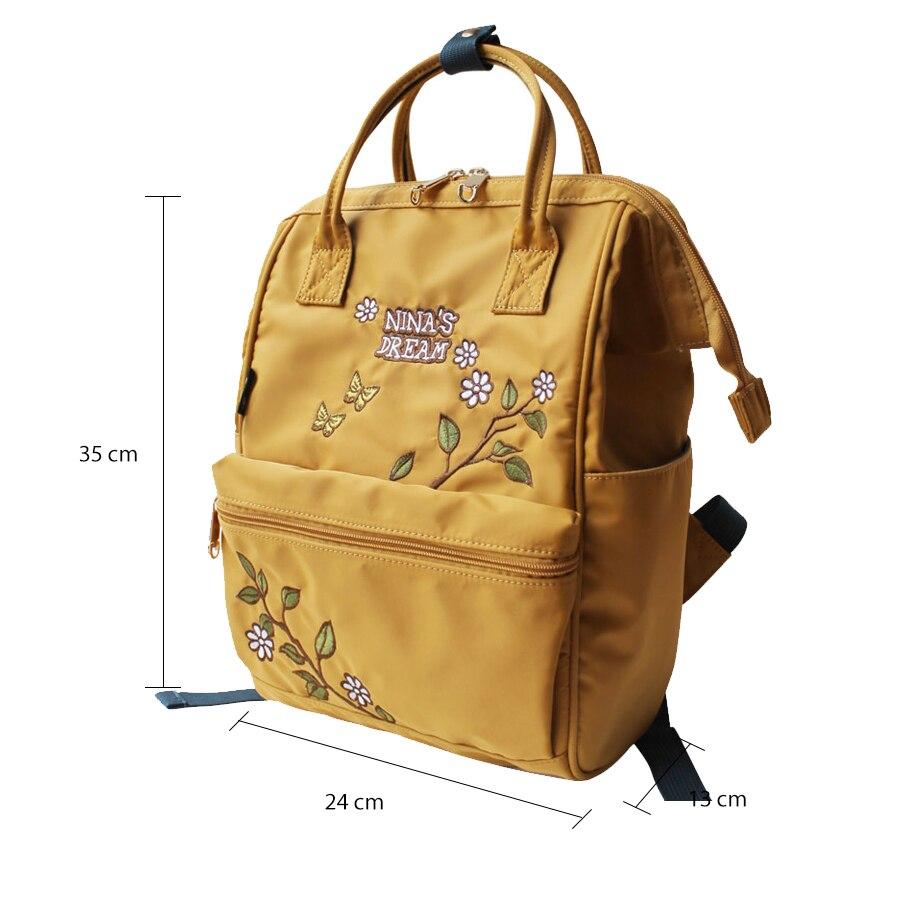 Cvijet princeza Žene Bagpack visoke kvalitete Žene Laptop ruksak - Ruksaci - Foto 6