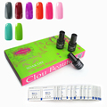 Clou Beaute 8 Colors SONP 021 & Remover Wraps*50 Nail Gel Soak Off UV Gel Polish Nail Art Gel Lacquer UV Lamp