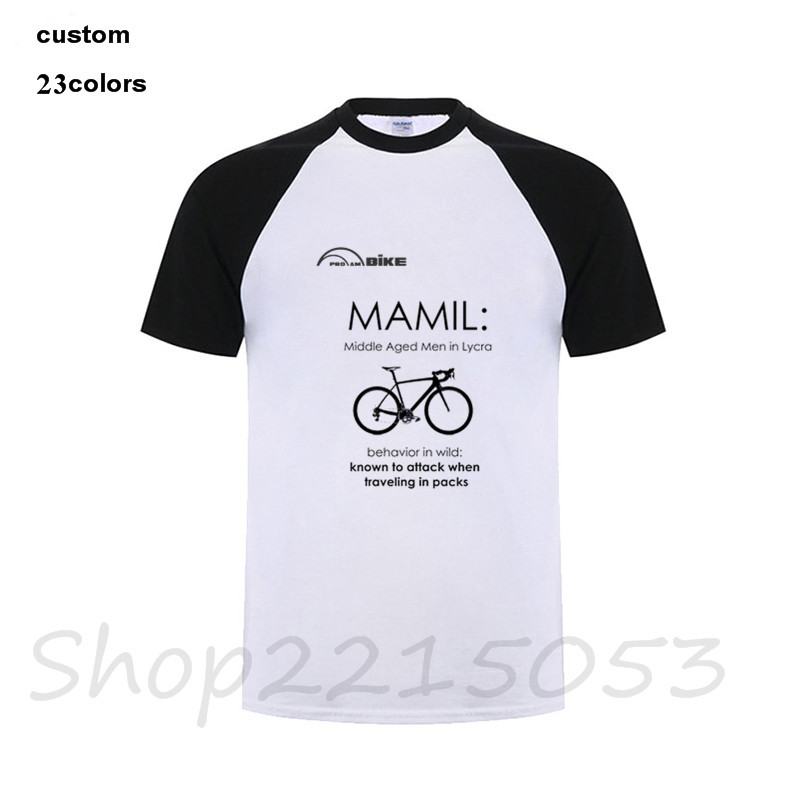 2018 funny Cyclings T Shirt MAMIL middle aged men in lycra Behavior biker Men T-Shirt Motorbike MTN mountain male fashion tshirt