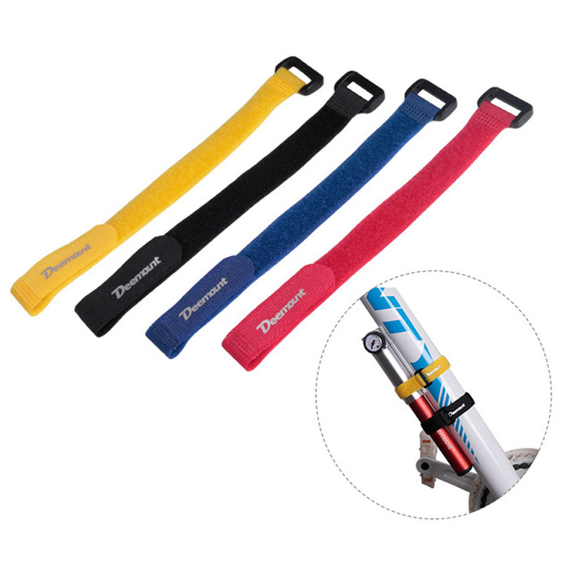 3Pcs Bicycle Mountain Bike Multi-function Magic Paste Binding Band Gas Cylinder Tie Band Brake Line Shifting Line Nylon Cable Ti