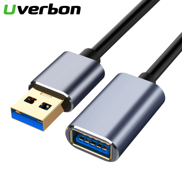 USB 2.0 3.0 Extension Cable Male to Female Extender Cable for PC Laptop USB Extension Cable USB3.0 Cable Extended for Smart TV