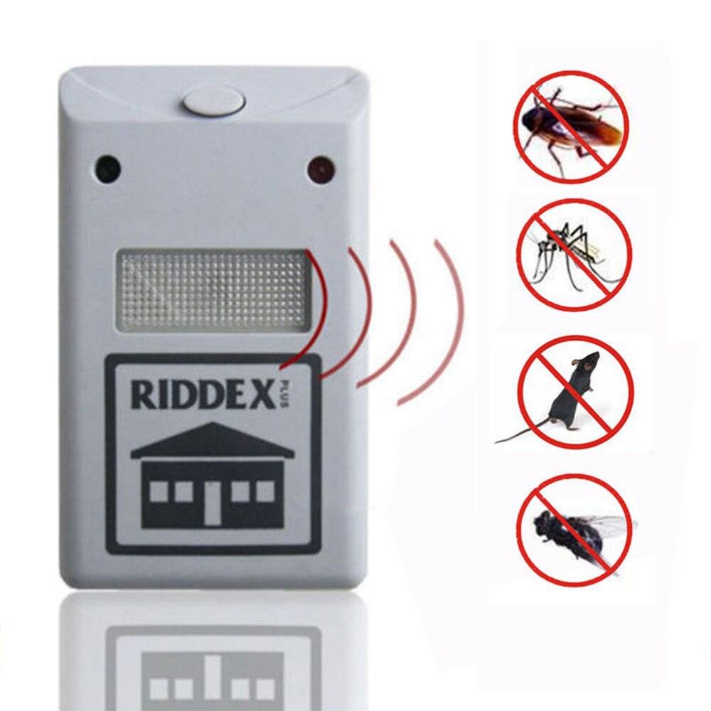 EU US Plug Electronic Ultrasonic Rat Mouse Repellent Anti Mosquito Repeller Rodent Pest Bug Reject Mole Repeller Pest Control