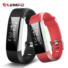 ID115 Plus Smart Wristbands Fitness Tracker Heart Rate Monitor Pedometer Smart Band for IOS Android Phone