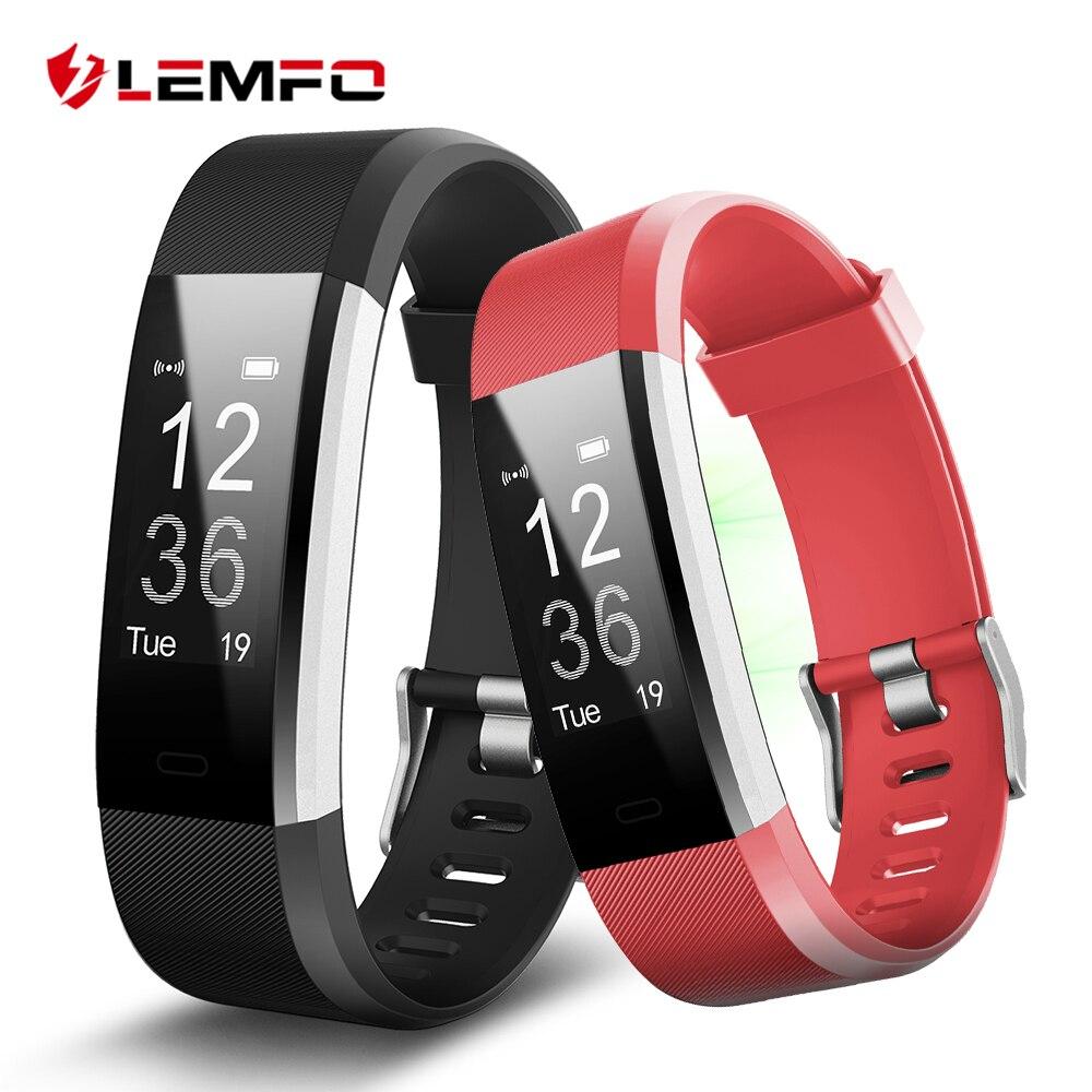 Id115 плюс Умные браслеты Фитнес трекер сердечного ритма Мониторы Шагомер Смарт-браслет для IOS телефона Android
