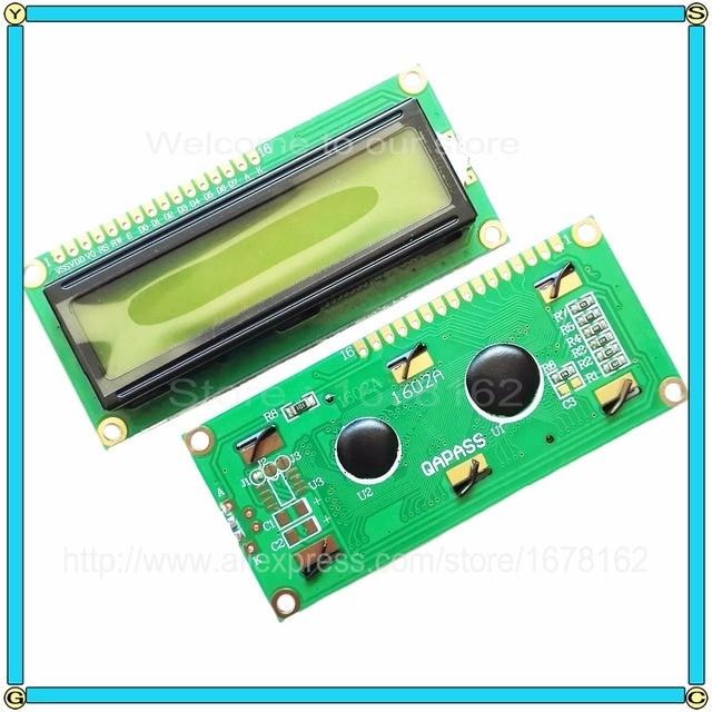 1pcs LCD1602 LCD 1602 1602A LCD character green screen display modules, Backlight green new 16 X 2