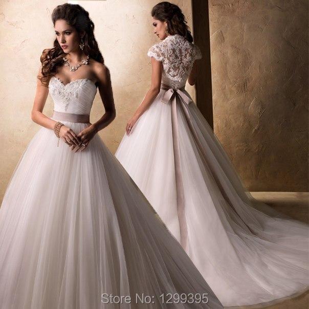 Online Get Cheap Ball Gown Wedding Dresses Light Purple ...