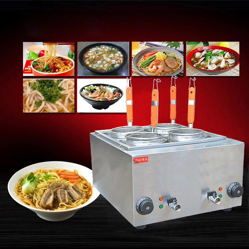 1PC FY-4M-B New and high quality electric pasta cooker,noodles cooker,cookware tools,cooking noodles machine 220v 600w 1 2l portable multi cooker mini electric hot pot stainless steel inner electric cooker with steam lattice for students