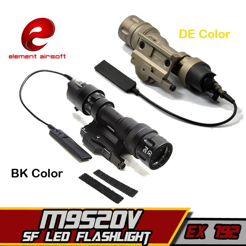 Surefir Element M952V Tactical IR Flashlight Softair Wapen Gun Arsoft Weapons Lantern For Hunting Rifle Airsoft Arms Arma Lights