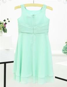 Image 4 - ורד סגול ורוד נסיכה כחולה שמלה יפה שמלות כדור כותנות פרח בנות שמלות הקודש הראשונה למסיבה וחתונה