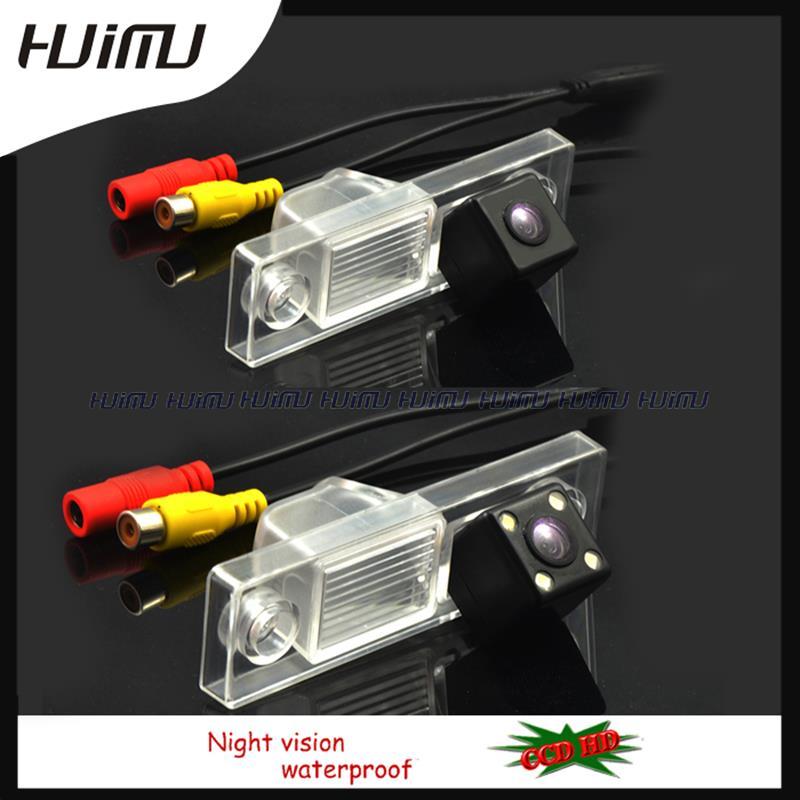 imágenes para Cable wireless led hd coche cámara trasera de aparcamiento para sony ccd chevrolet chevy cruze nueva captiva de visión nocturna a prueba de agua ip68