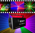 RGB 3D Anime Laser Stage Light Music Projector DMX-512 SD Card for KTV DISCO