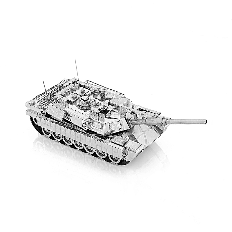 3D Metal Model Puzzles DIY Puzzle Jigsaw Kit For Adults Children Educational Collection Toys Abrams Tank