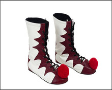Hot Sale Stephen King's It Pennywise Cosplay Shoes Boots Adult Men Women Clown Shoes Halloween Party Cosplay Shoes