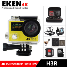 H3/H3R Ultra HD 4K WiFi Action camera 1080P Full HD 2.0″ waterproof 30M go pro Hero 4 style Sports DV camcorder vs sj 4000 cam