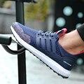2017 Novos Sapatos Masculinos Sapatos de Desporto dos homens Tenis Sapatos Bottoms Cinza Sapatos casuais Homens Sapato Formadores Barato Voar Tecer Ultras Aumenta Krasovki