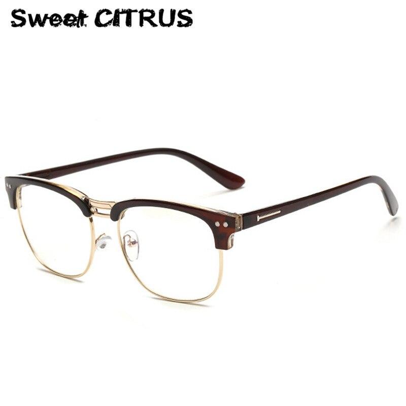 Half Frame Metal Reading Glasses : Aliexpress.com : Buy Fashion Metal Half Frame Glasses ...