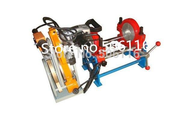 Nouveau 63 MM-160 MM deux pinces HDPE Buttle Machine à souder tuyau Fusion Machine soudeuse