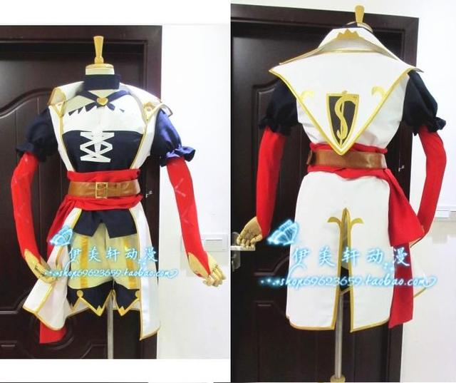 game anime the bounty hunter captain miss fortune cosplay costume