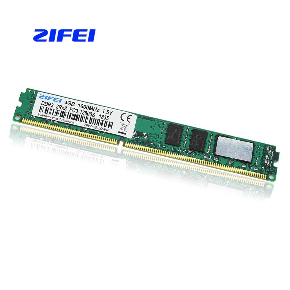 ZIFEI Ram DDR3 4GB 1600MHz Desktop Memory 240pin 1.5V DIMM PC3 12800 sell 8GB цена в Москве и Питере