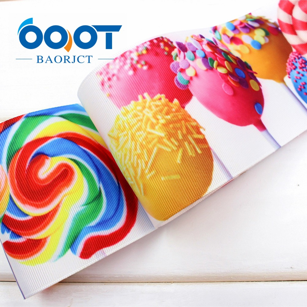 171039 , 3 75MM Help sugar Printed grosgrain ribbon, DIY handmade Hair accessories Material wedding gift wrap