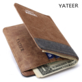 Fashion Bank ID Business Credit Card Holder Wallet money clip Cards Pack Porte Carte Cardholder  for Women Female Men Girls new