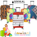 Luggage Covers Travel Suitcase Covers Dustproof Spandex Baggage Protector for 18 20 22 24 26 26 28 30 32 inch Trolley Case