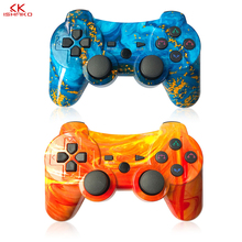 Bluetooth Wireless Double Shock Gamepad joystick джойстик геймпад for Playstation 3 Remote Sixaxis for PS3 Controller 8bitdo m30 цена в Москве и Питере