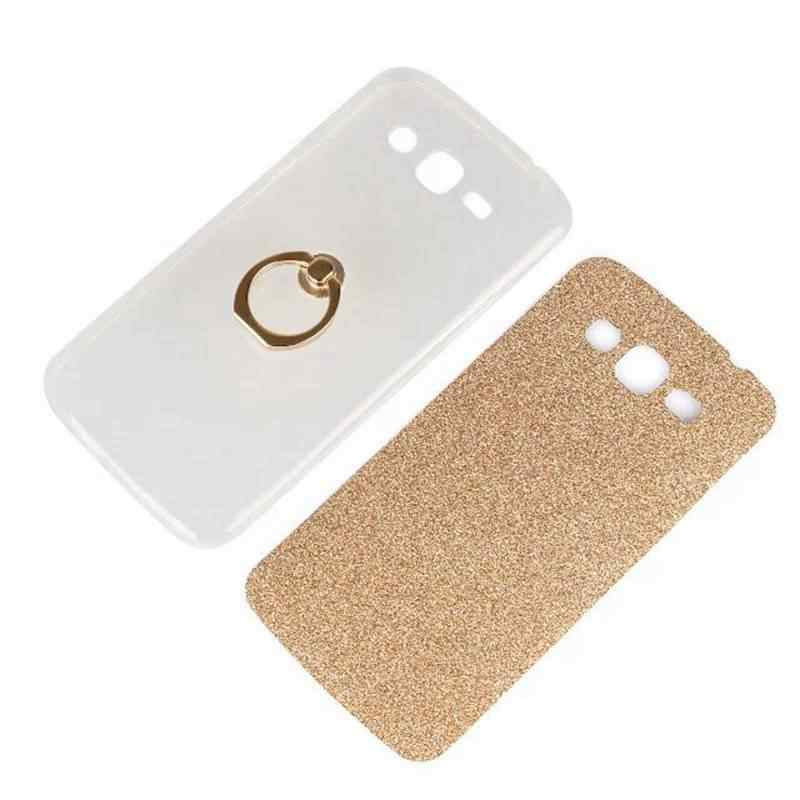 Чехол для бренда tuke мягкий Кап ТПУ для samsung Galaxy Grand 2 G7102 G7106 G7108 G7109/G 7102 7106 7108 7109 пара чехлов + кольцевой держатель