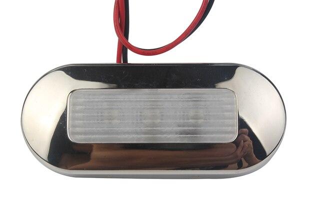 12 فولت لليخت البحري RV LED علوي الضوء الأزرق/الأبيض المقاوم للصدأ مرساة ملحقات قارب مضيء