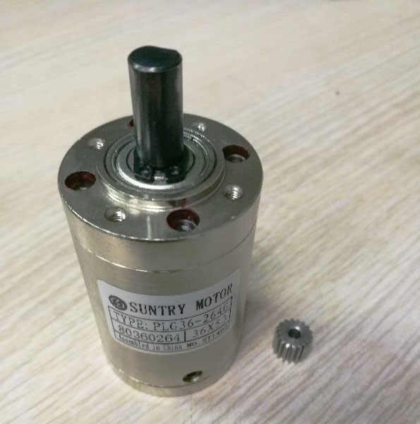 3.71:1 Planet Gearbox PLG36 Planetary 36mm Diameter Gearbox Input 5mm