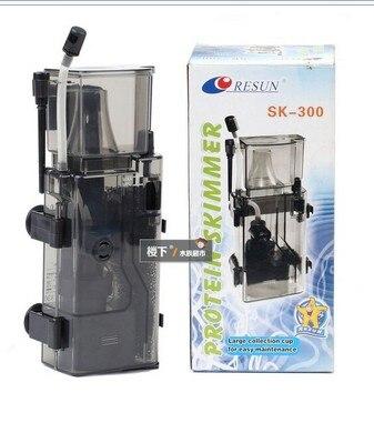 SK-300 Écumeur 4 W 300L/H Aquarium Marin Réservoir Filtre Système Accessoires