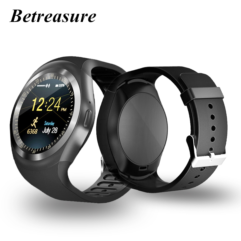 Betreasure BW01 Smart Watch Android Sport Bluetooth Wearable Men Women Classical Business Smartwatch For Huawei Xiaomi Phone
