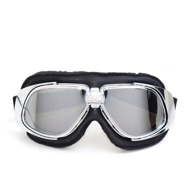 8489111ff3ff9 Motorcycle Motocross Goggles lunette moto ancienne Scooter Steampunk  Cruiser Helmet Goggle Eyewear for Motorbike Moto gafas