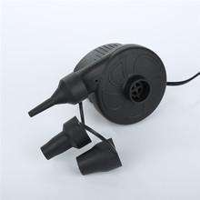 Auto na świeżym powietrzu 12 V kryty 220 V elektryczna pompa powietrza narzędzie Inflator + 3 dysze łóżko materac łodzi Auto Car Styling Auto akcesoria tanie tanio Pompy HCY3129 0inch High-quality material 400g Liplasting Support car 12V power supply