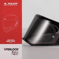 Origina LS2 FF324 Motorcycle Helmet visor clear Pinlock Anti fog patch Suitable for LS2 METRO Lens Anti fog Film