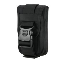 Outdoor Universal Black Bag Tactical Holster Military Waist