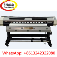 Best Quality DX12 Head Eco Solvent Outdoor Plotter 1 6M 1 8M