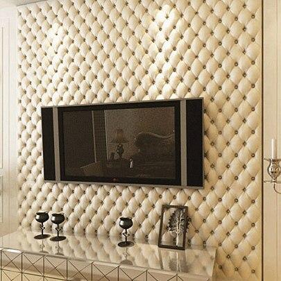 3d Luxueux Salon Fond Papier Peint Imitation Cuir Motif Papier Peint  Papiers Peints Décor à La Maison Papier Peint Rouleaux Dans Fonds Du0027écran  De Rénovation ...