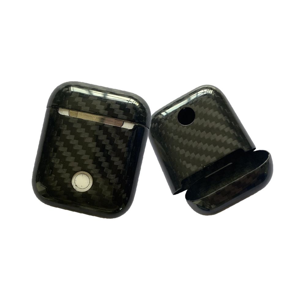 Carbon Fiber Wireless Earphones Cases Cover for Apple AirPods wireless bluetooth headphones Air Pod carbon protection case cover in Earphone Accessories from Consumer Electronics