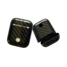 Carbon Fiber Wireless Earphones Cases Cover for Apple AirPods wireless bluetooth headphones Air Pod carbon protection case cover