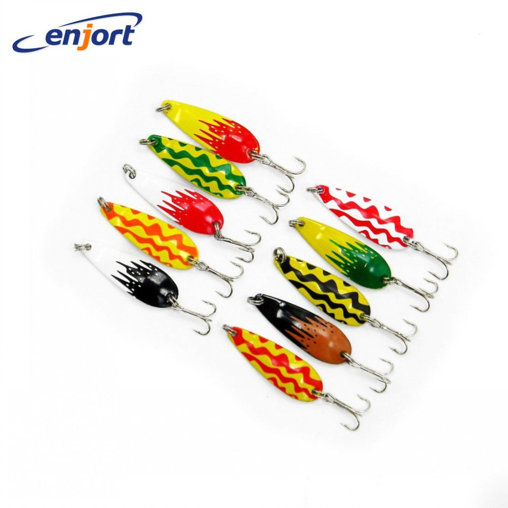 New spoon fishing lures fish baits spinner blades fishing for How to make a fishing spinner