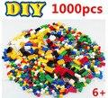 Más Regalos! 1000 unids building blocks 11 formas diy juguetes educativos pequeña compatible ladrillos partes brinquedos