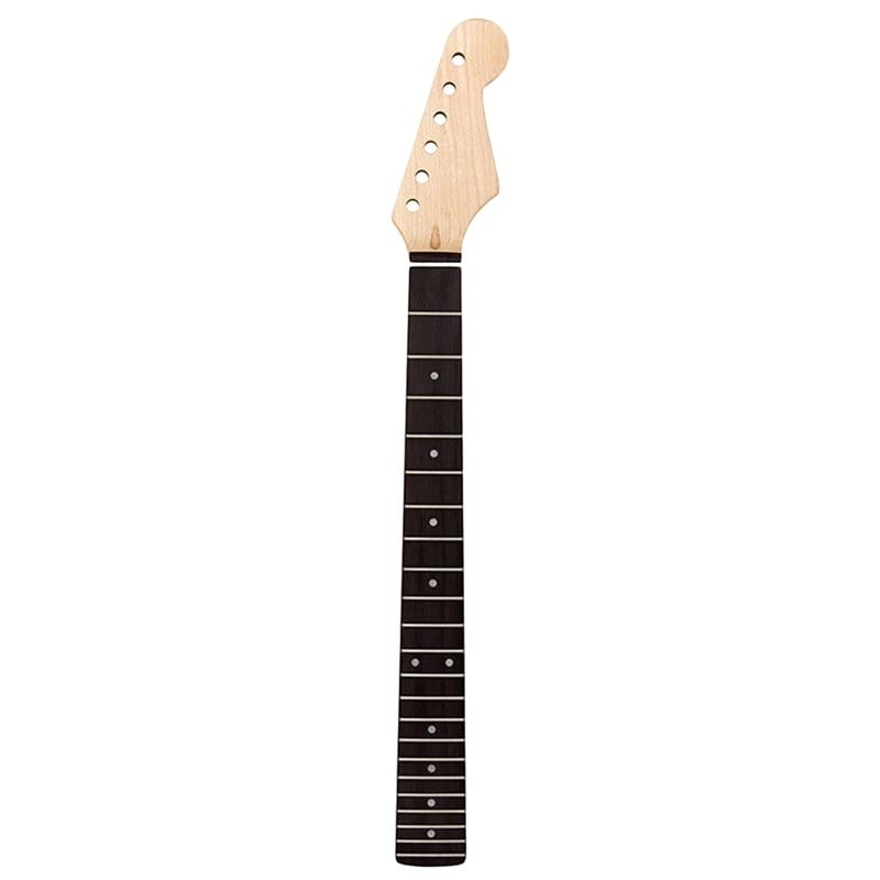 22 frettes érable guitare électrique cou palissandre touche pour ST TL Strat remplacement