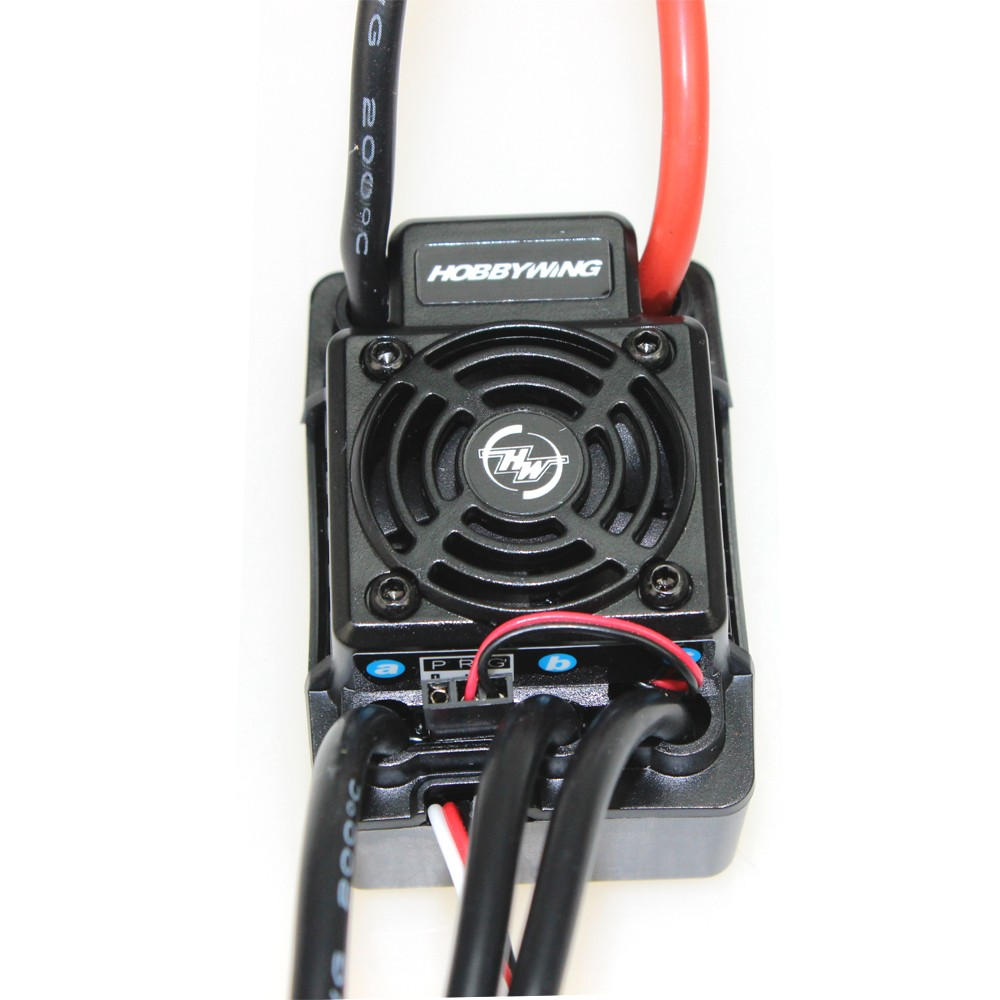 Original Hobbywing EZRUN WP SC8 Waterproof 120A Brushless ESC EZRUN-WP-SC8 for RC Car Trunk Accessoriess
